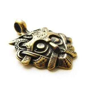 купить клон маска одина из бронзы из серебра заказать украина