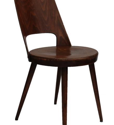 bo vintage chaise bistro baumann ann es 60 brun. Black Bedroom Furniture Sets. Home Design Ideas