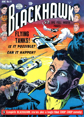 Blackhawk 41 cover--Flying Tanks
