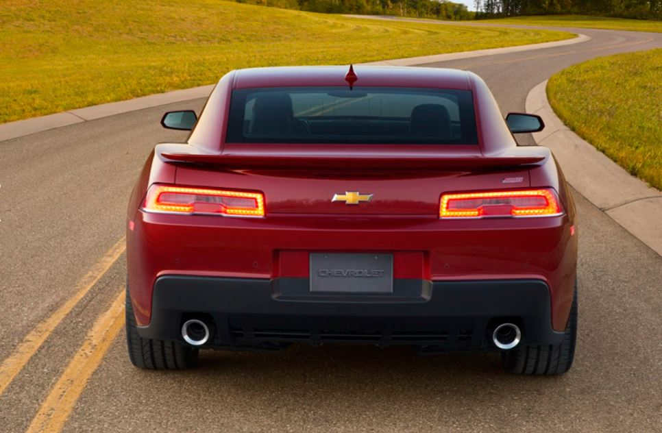 car in Chevrolet Camaro 2014
