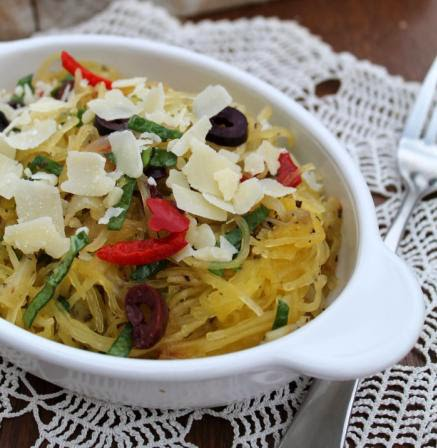 Light & Zesty Spaghetti Squash Toss