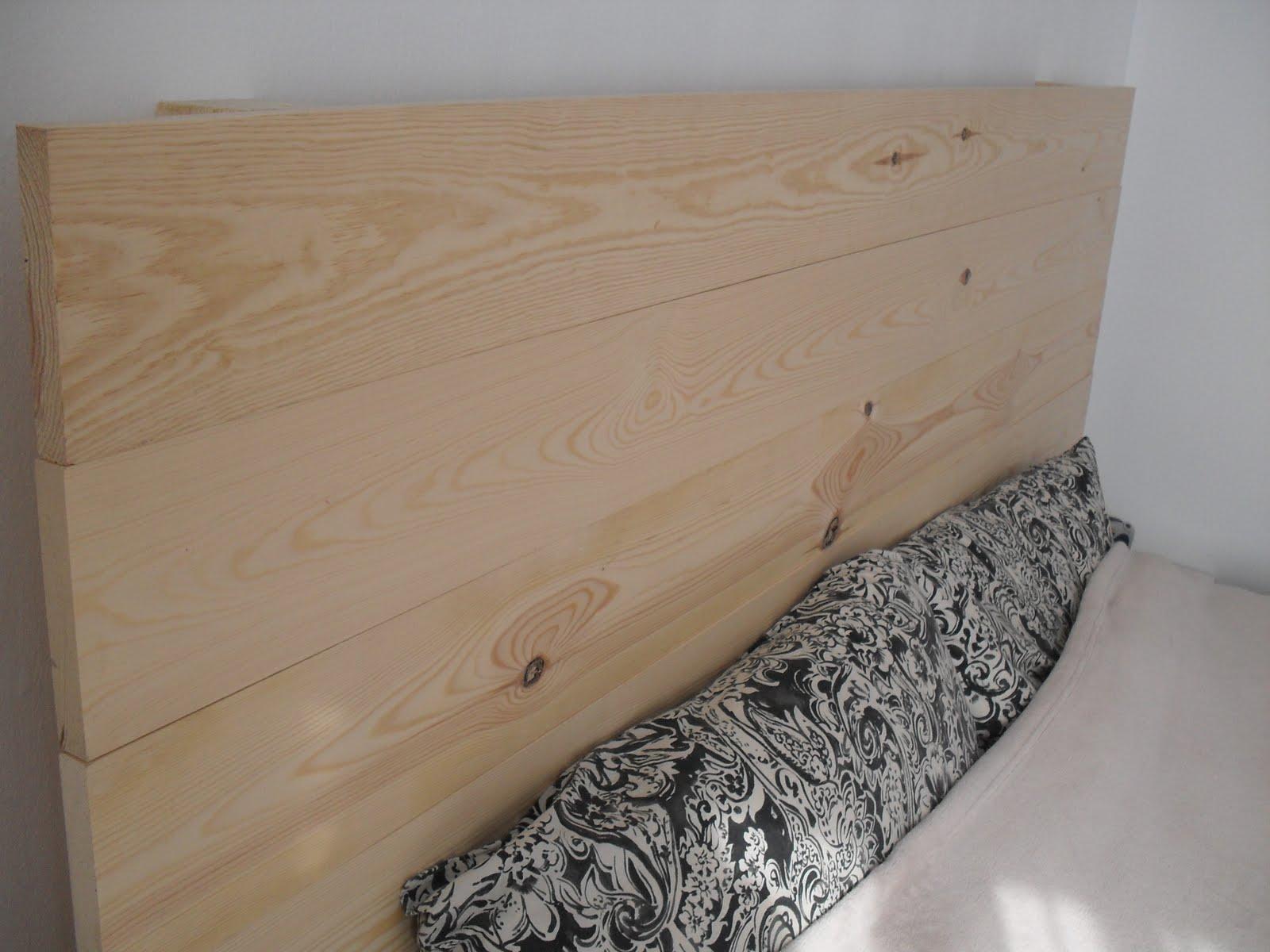 Cabezal de listones de madera lascafe - Cabezal de madera ...