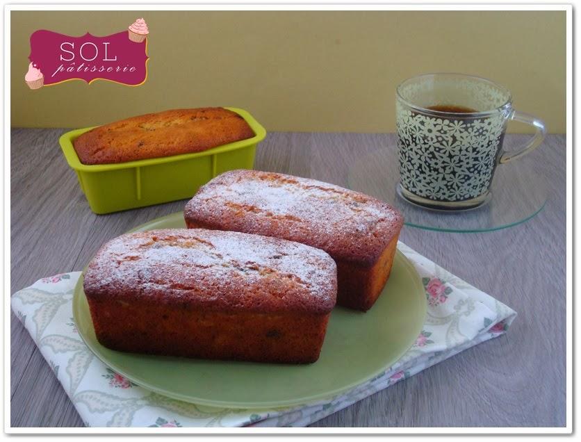 Mini cakes à la farine de pois chiche à la banane et aux pépites de chocolat sans gluten - Bolinhos de farinha de grão de bico banana e pepitas de chocolate sem gluten