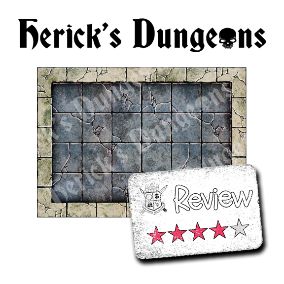 Frugal GM Review: Herick's Dungeons (Dungeon Rooms)