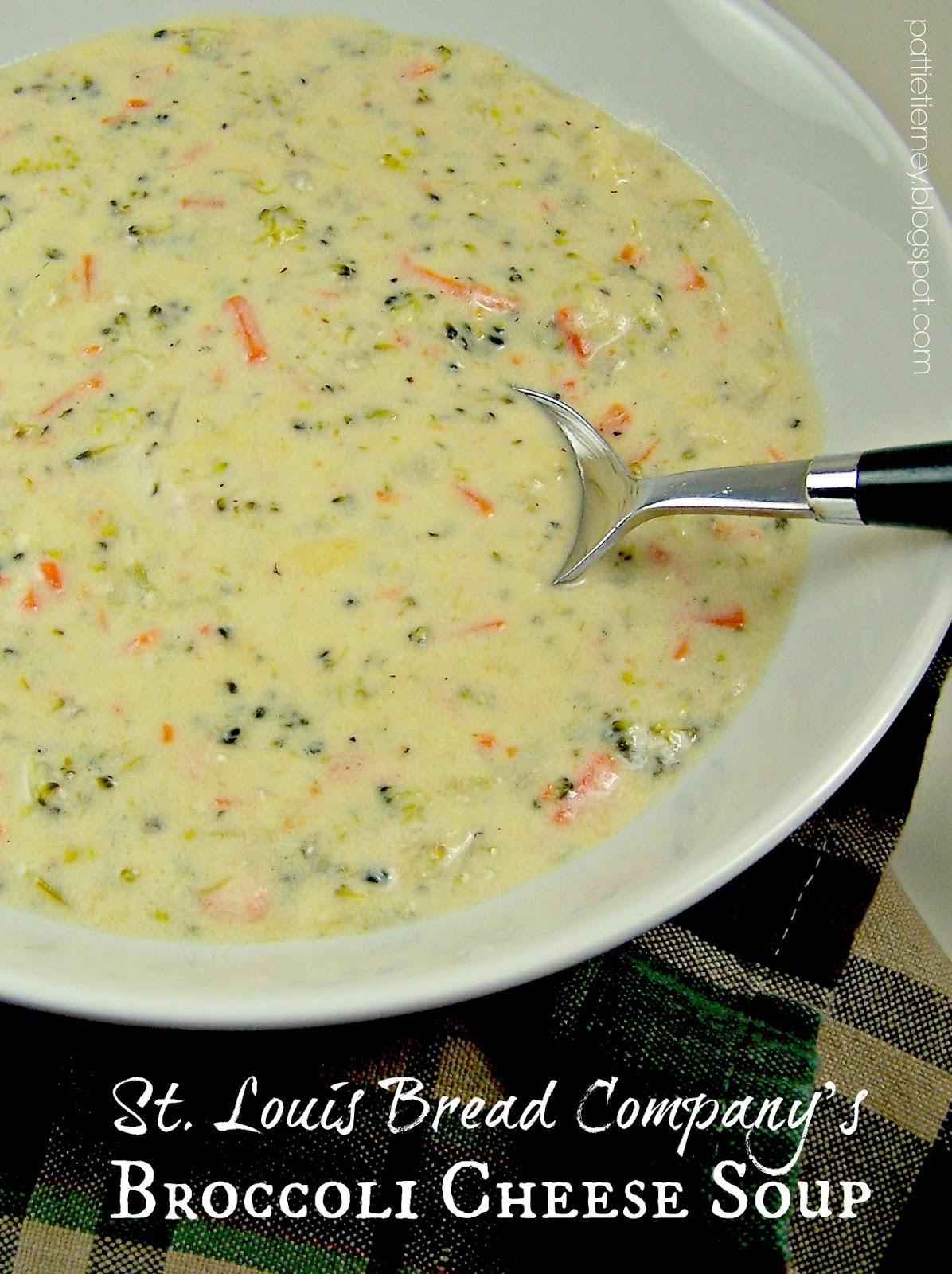 Olla-Podrida: St. Louis Bread Company\'s Broccoli Cheese Soup