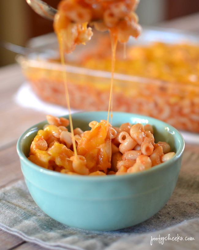 Gram's Macaroni - cheap, easy and the ultimate comfort meal!