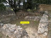 Els romans d'aquesta vil·la disposaven de magatzems i cellers per guardar la producció agrícola