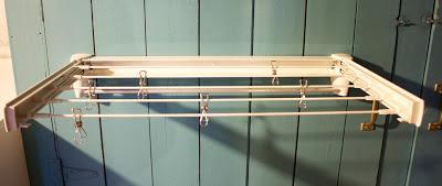 The Impatient Gardner -- drying rack