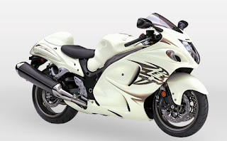 Suzuki Hayabusa White Edition picture