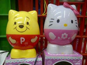 Lampu Kapsul Kitty & Pooh
