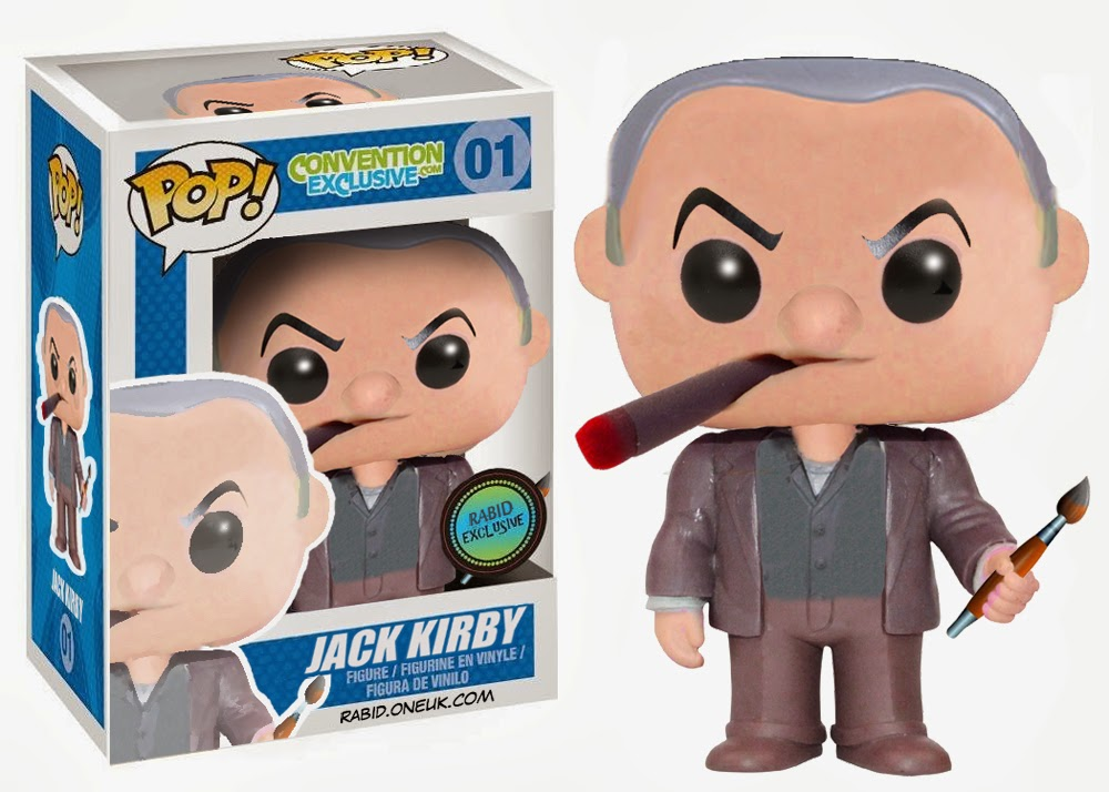 Jack Kirby Funko Pop Vinyl Figure - Available nowhere