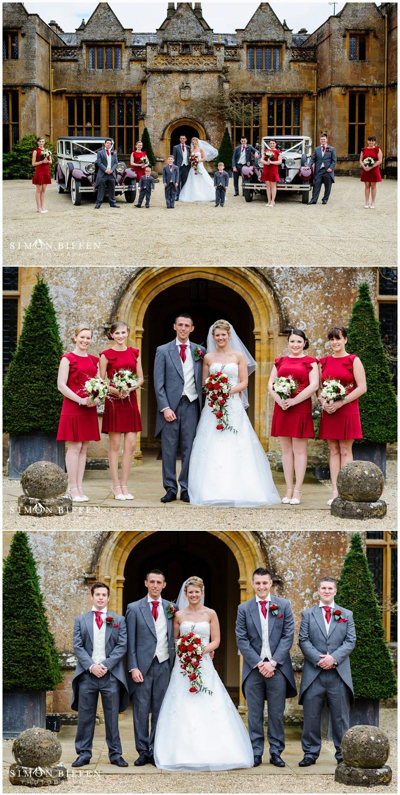 Wedding Bridal party group shots