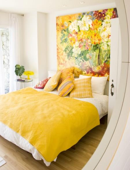 15 Idee fai da te per arredare piccole camere da letto