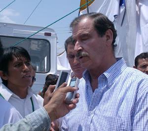ACOMPANDO AL PRESIDENTE DE MEXICO