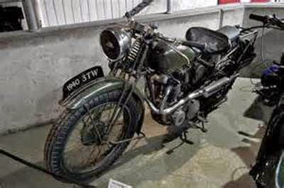 Gambar Motor Jadul tahun 1940
