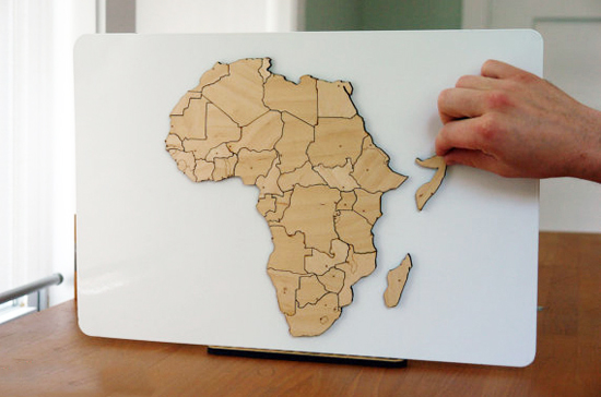 Safari Fusion blog | Just map it! | Africa type maps, wall map decals and wooden block maps
