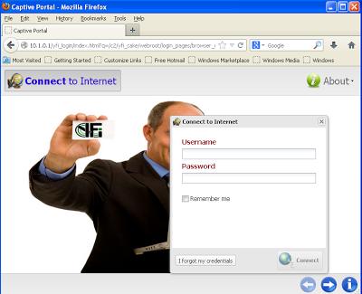 YFI - page login client