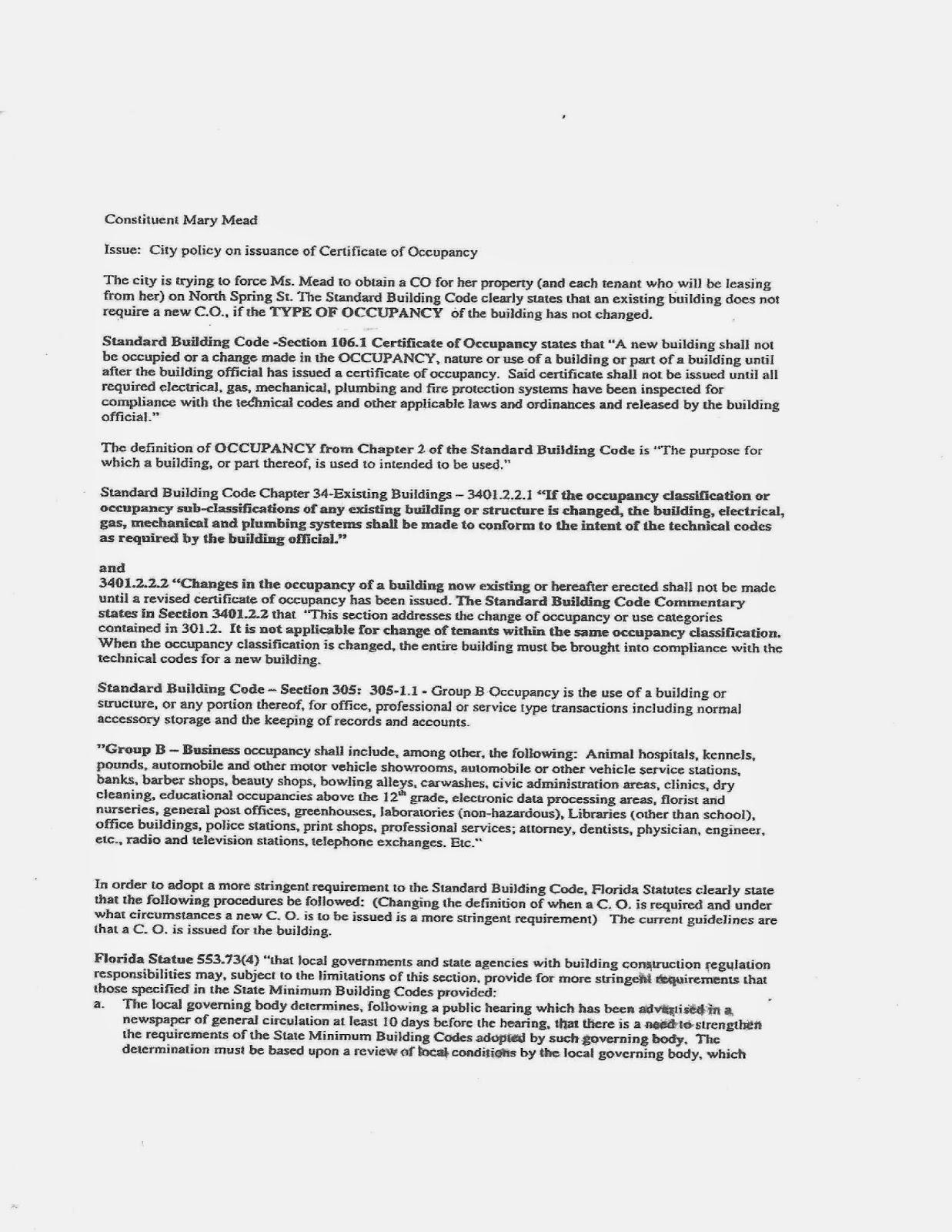 Pensacola Newsletter