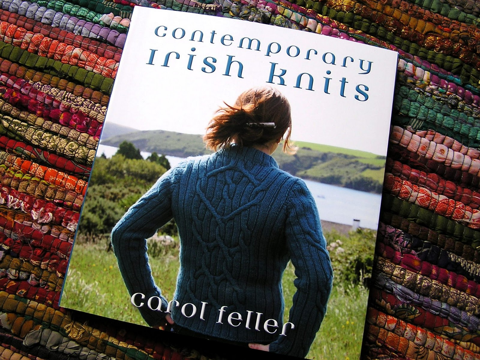 Everything Old: Book Review: Contemporary Irish Knits by Carol Feller
