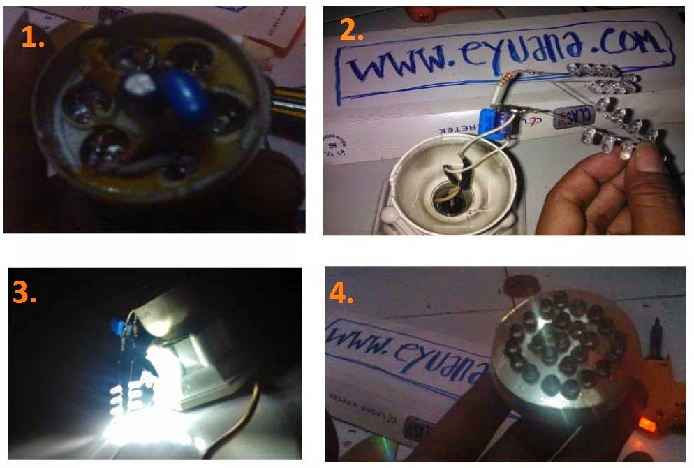 Membuat sendiri Lampu LED hemat energi