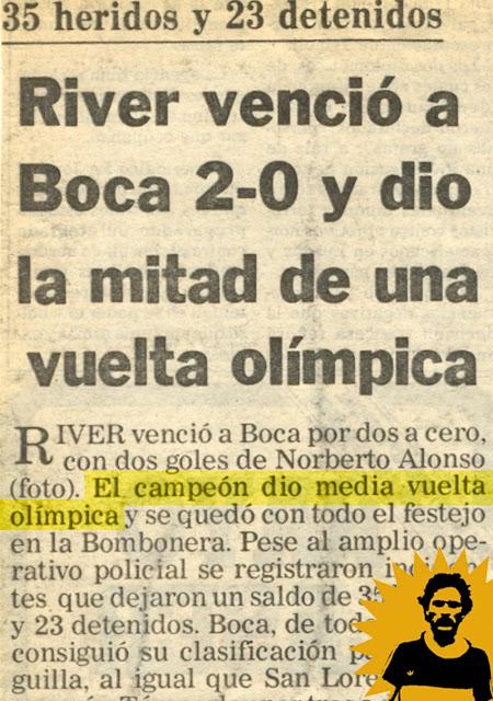 Las veces que Boca dio la vuelta en la cancha de River