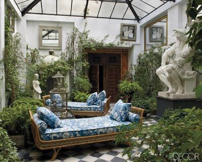 The entertaining house en plein air atrium love for Atrium design and decoration