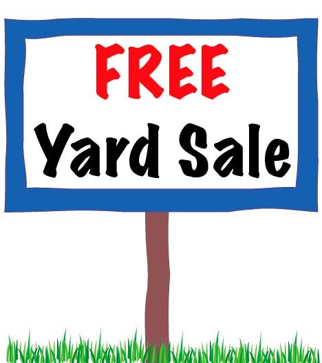 free yard sale