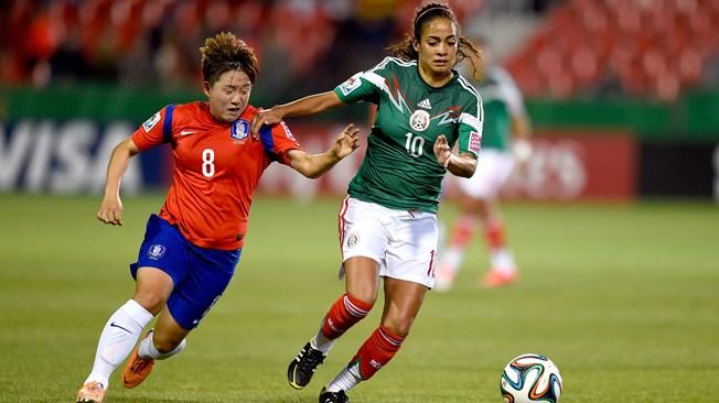 Corea del Sur vs. México, Copa Mundial Femenina Sub-20 Canadá 2014 | Ximinia