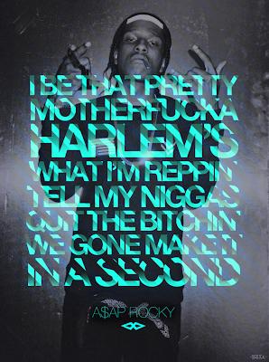 rapper wallpapers - a$ap hip hop illustrations