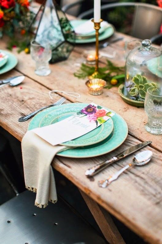 celebrar recepción de boda en un viejo invernadero