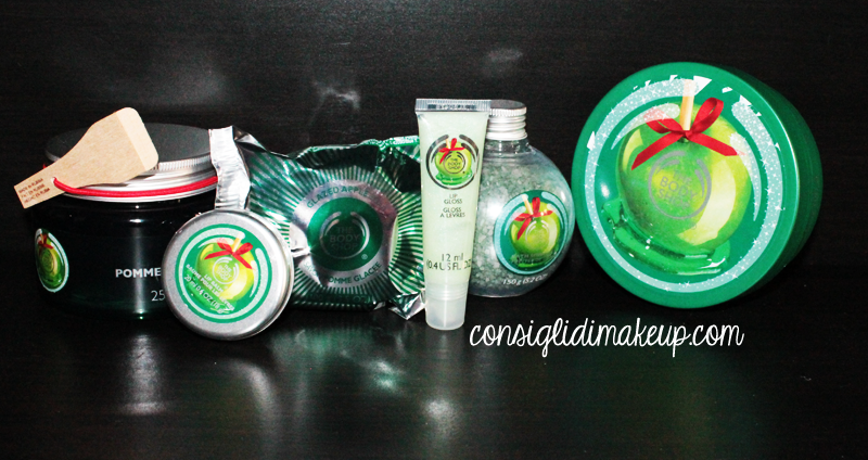 the body shop  linee natalizie