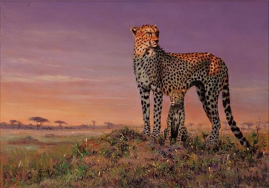 картины зверей африки