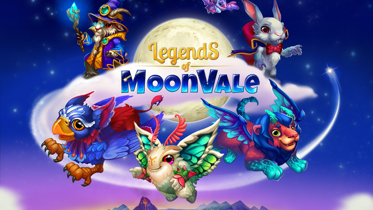 Legends of Moonvale Gameplay IOS / Android