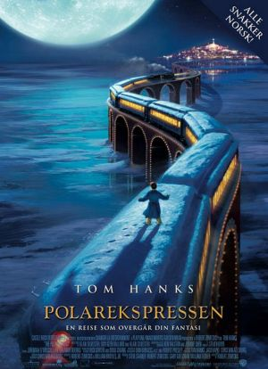 Train almost at North Pole Polar Express 2004 animatedfilmreviews.blogspot.com