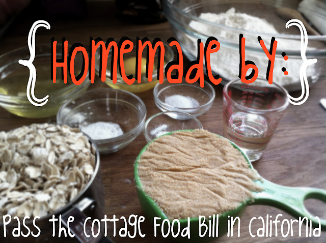 California, Cottage Food Law, San Diego, baking, homebaked, bakers