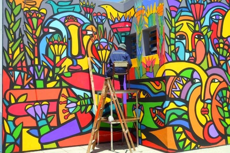 Cuadros modernos pinturas y dibujos im genes murales - Murales con fotos ...