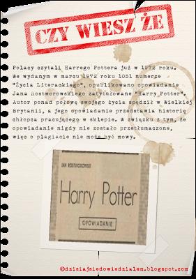 Harry Potter opowiadanie w Polsce 1972