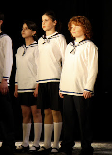 3 Von Trapp children in Sailor Suits - trousers and skirts