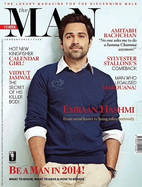 Emraan Hashmi on the cover of The Man
