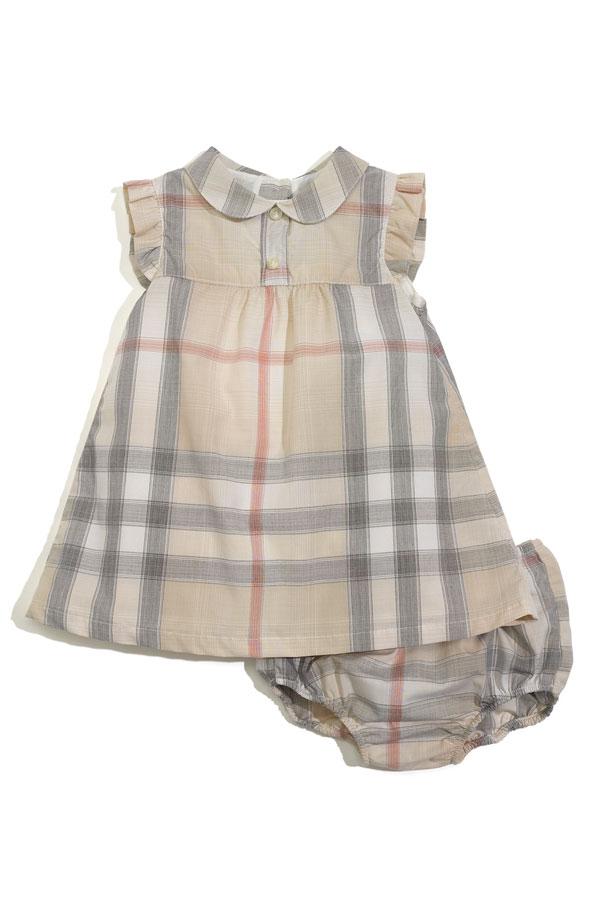 Designer Baby Clothes Luver Burberry Dress