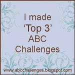 I came in the TOP 3 @ ABC CHALLENGES.