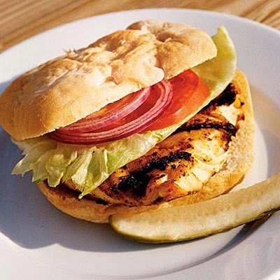 Grilled Grouper Sandwiches Recipe