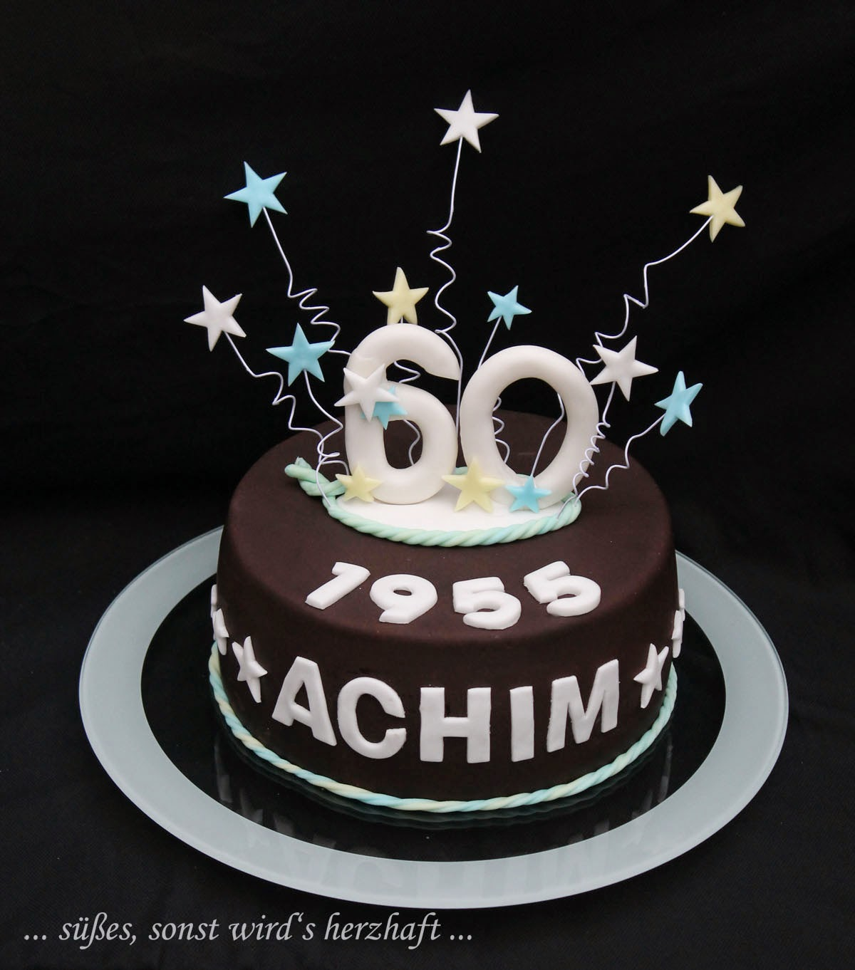 Süßes Sonst Wird S Herzhaft Schnelle Geburtstagstorte Zum 60