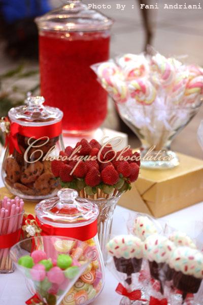 Candy Bar for Lia Vito Wedding Reception