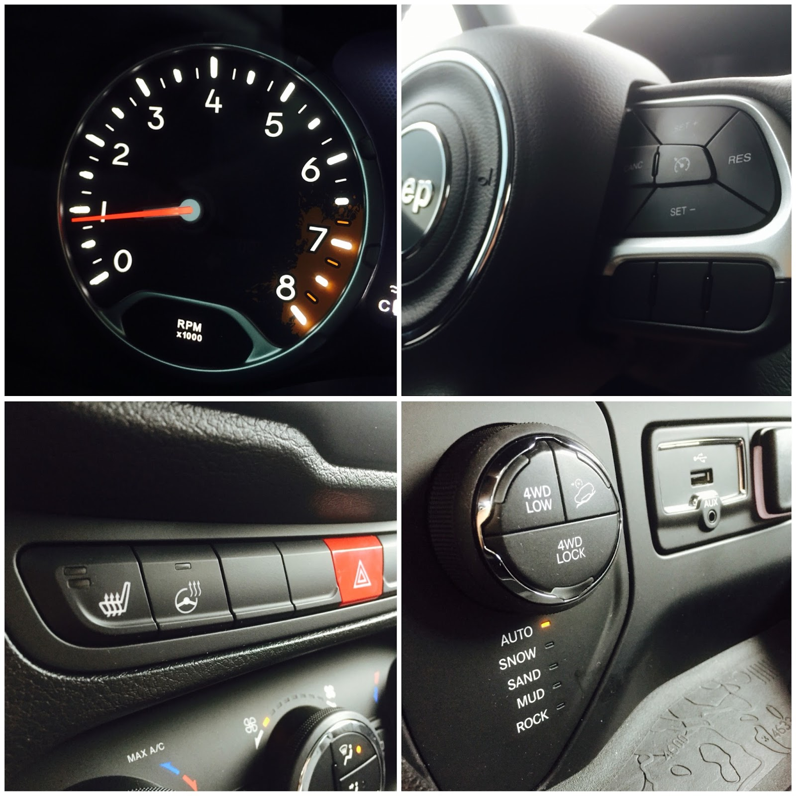 Interior Jeep Renegade Indonesia: 2015 Jeep Renegade Trailhawk Review