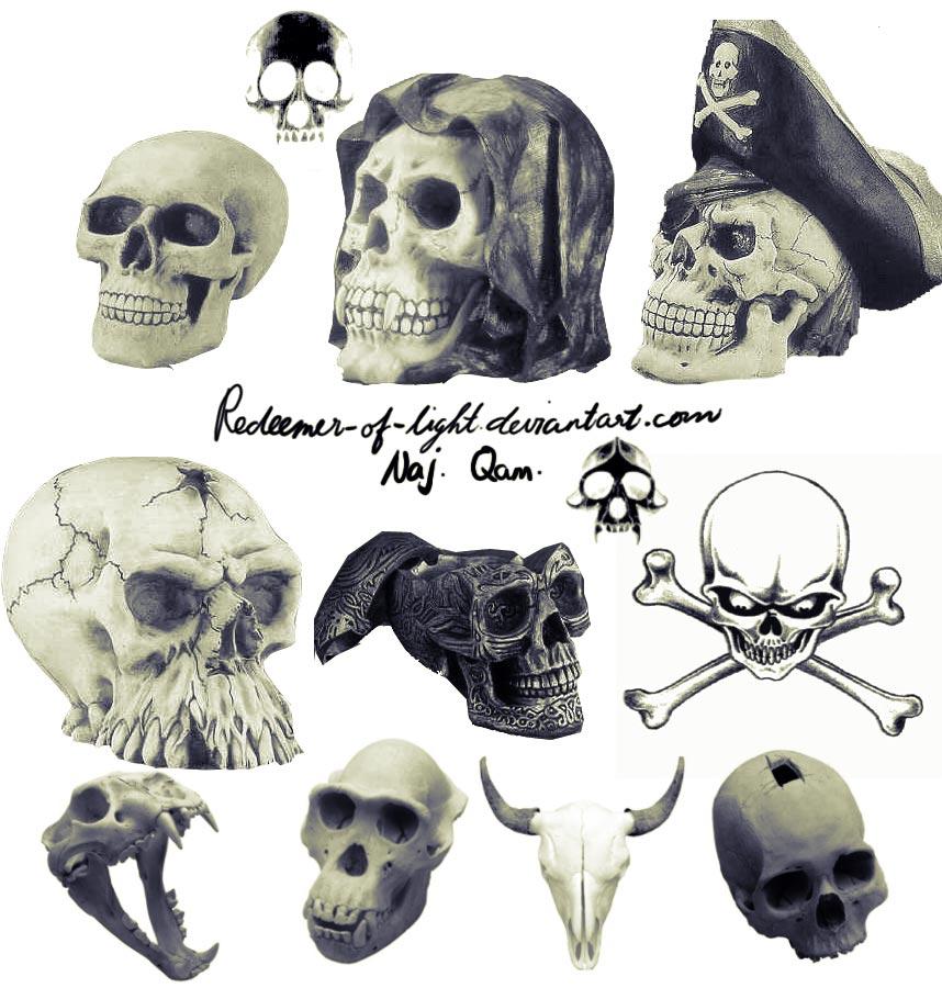 Skull brushes CS2