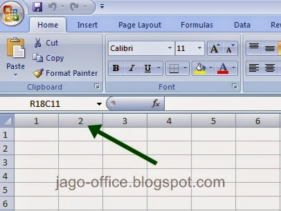 Excel Kolom R1C1
