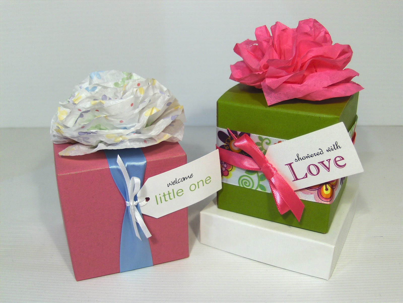 Tissue Paper Flowers Mini Version Packaging Store
