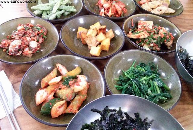 Platillos coreanos