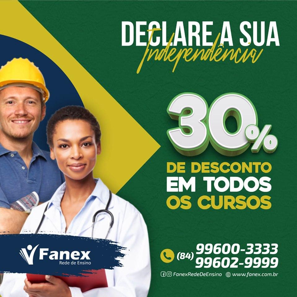 FANEX EM ALTO DO RODRIGUES!